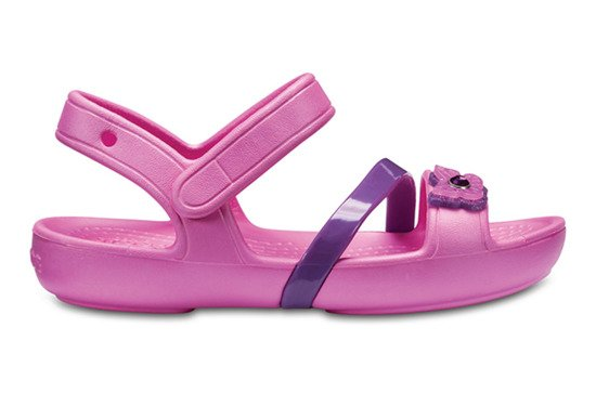 САНДАЛИ Crocs Lina 205043 PARTY PINK