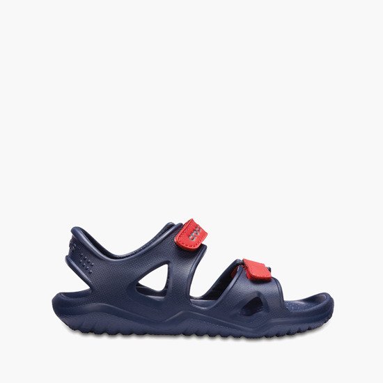 Crocs Swiftwater River Sandal 204988 NAVY/FLAME