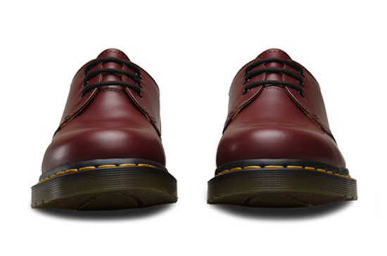 BUTY DR. MARTENS 1461 CHERRY RED SMOOTH